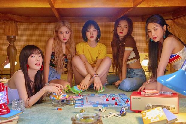 Red Velvet soán ngôi kỉ lục của ITZY, vươn lên trở thành bà hoàng bám trụ top 5 Genie lâu nhất trong năm 2019 - Ảnh 1.