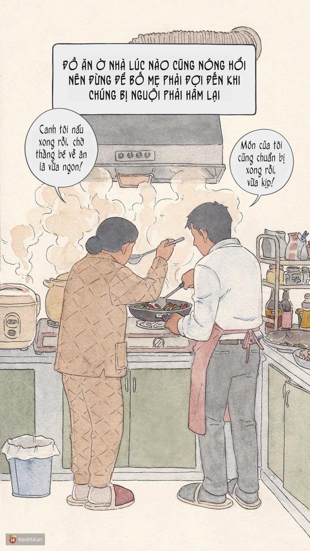 Bộ tranh: Đã về nhà ăn Tết thì hãy dành thời gian bên bố mẹ, tạm tha cho cái điện thoại đi - Ảnh 5.