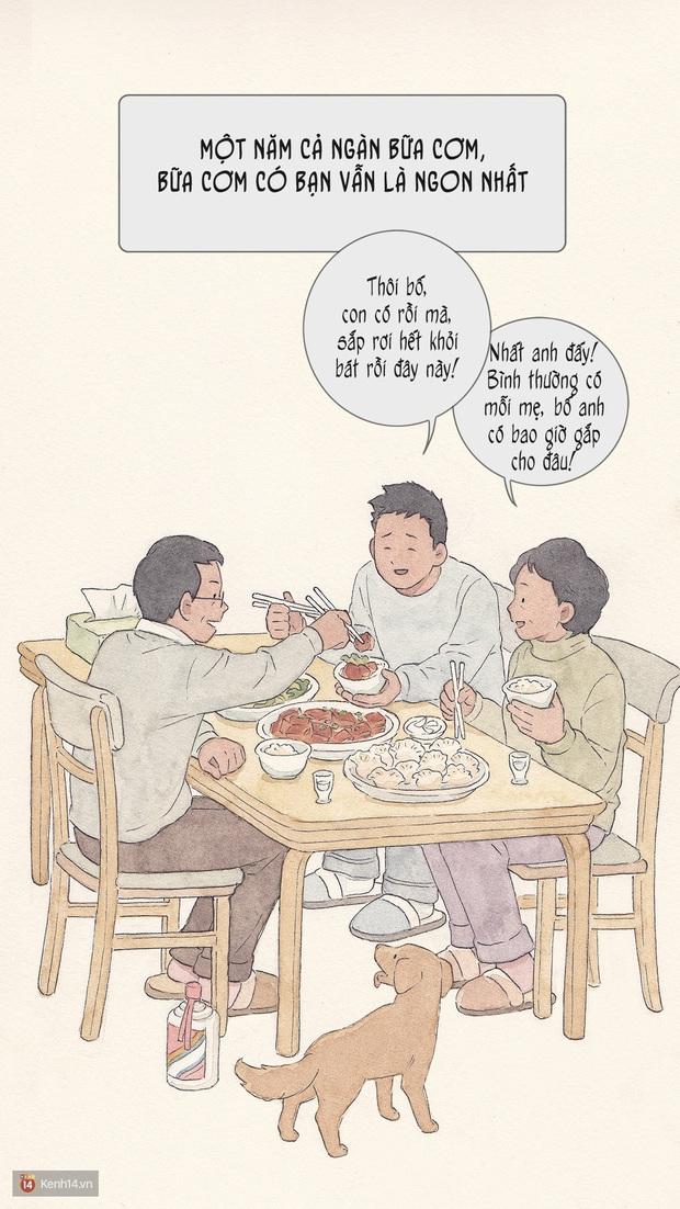 Bộ tranh: Đã về nhà ăn Tết thì hãy dành thời gian bên bố mẹ, tạm tha cho cái điện thoại đi - Ảnh 6.