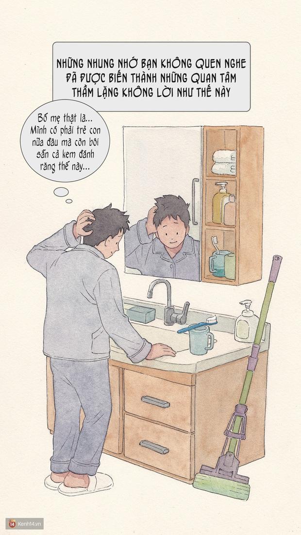 Bộ tranh: Đã về nhà ăn Tết thì hãy dành thời gian bên bố mẹ, tạm tha cho cái điện thoại đi - Ảnh 7.
