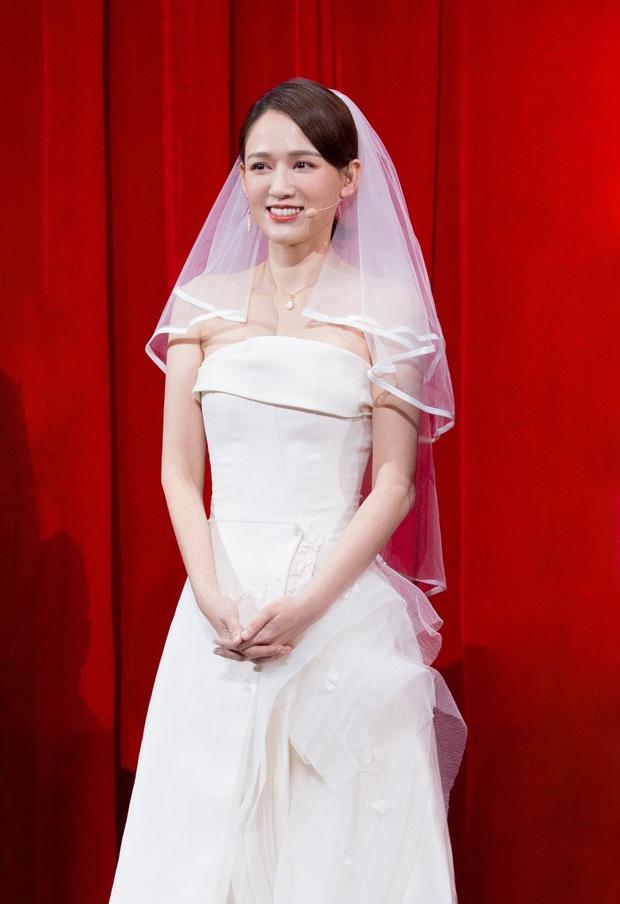 Trần Kiều Ân khiến Cnet bất ngờ với hình ảnh diện váy cưới trắng muốt, nam chính lại là nhân vật ít ai ngờ - Ảnh 1.