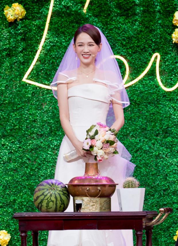 Trần Kiều Ân khiến Cnet bất ngờ với hình ảnh diện váy cưới trắng muốt, nam chính lại là nhân vật ít ai ngờ - Ảnh 2.
