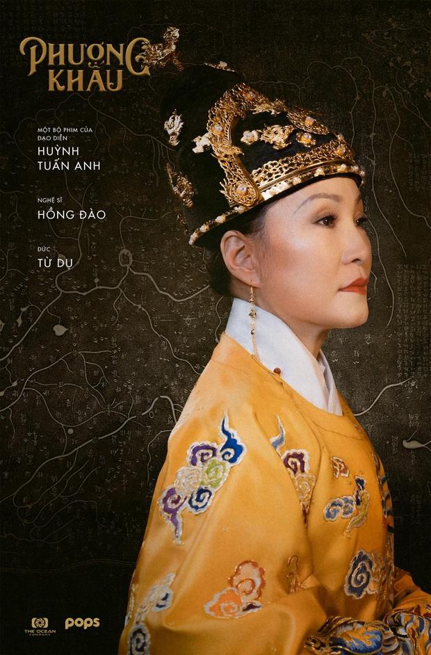 Phượng Khấu tung tạo hình đại triều phục của Thành Lộc và Hồng Đào, phim cung đấu Việt chưa bao giờ hoành tráng đến thế - Ảnh 5.