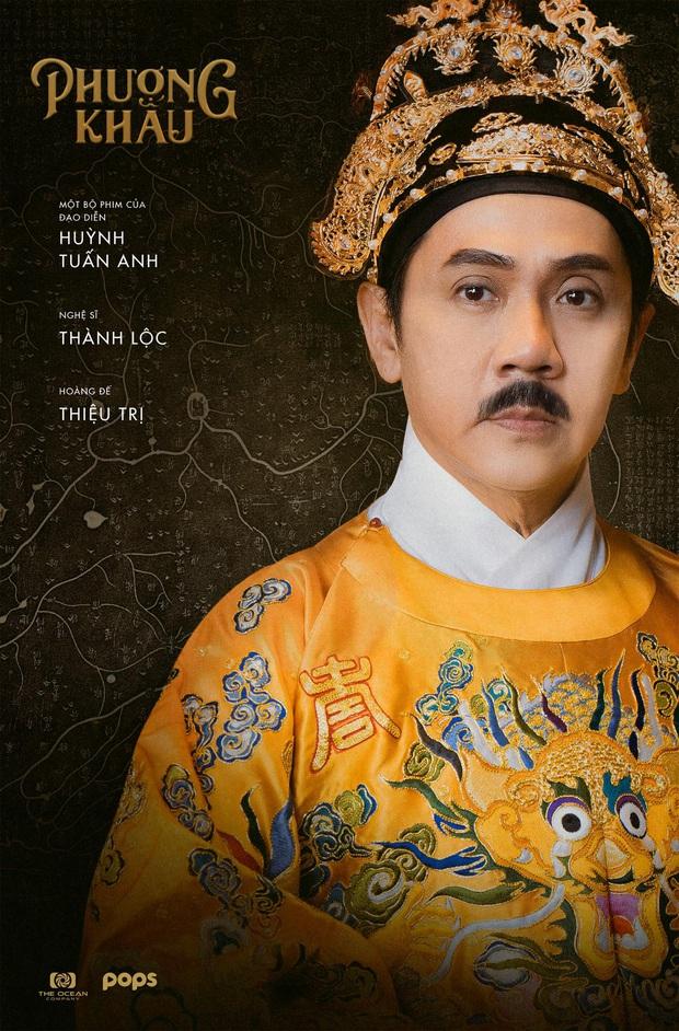 Phượng Khấu tung tạo hình đại triều phục của Thành Lộc và Hồng Đào, phim cung đấu Việt chưa bao giờ hoành tráng đến thế - Ảnh 4.