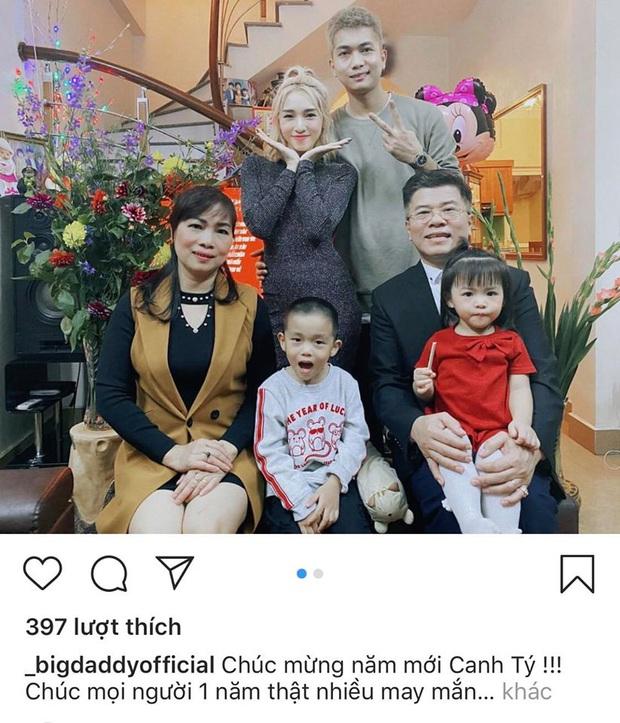 Loạt khoảnh khắc đáng nhớ của Sơn Tùng, gia đình Emily - Big Daddy và dàn sao Vbiz trong thời khắc giao thừa Tết 2020 - Ảnh 6.