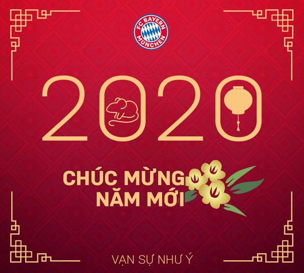 Các đội bóng lớn hàng đầu thế giới chúc Tết Canh Tý 2020: Sao Chelsea xách bánh chưng đi dạo phố, đồng đội Son Heung-min sang Việt Nam ăn cỗ với fan - Ảnh 2.
