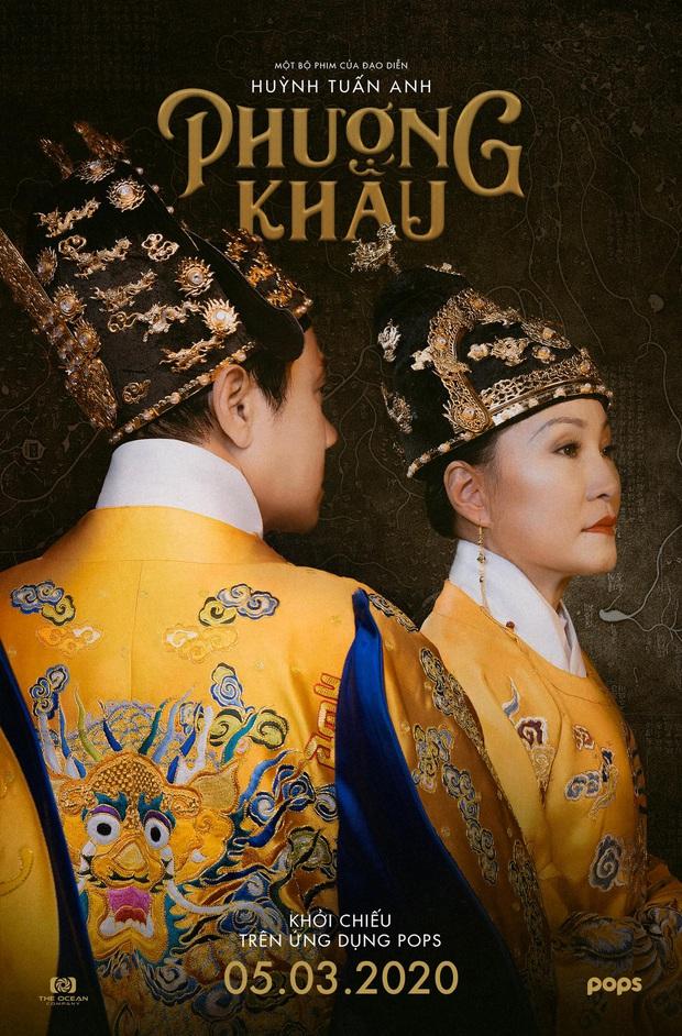 Phượng Khấu tung tạo hình đại triều phục của Thành Lộc và Hồng Đào, phim cung đấu Việt chưa bao giờ hoành tráng đến thế - Ảnh 1.