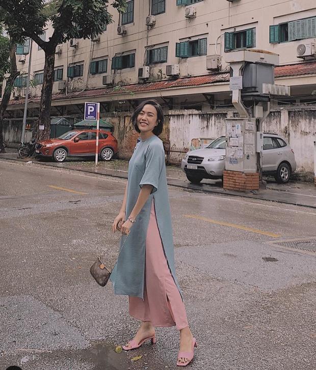 Diệu Nhi xúng xính áo dài đi chơi Tết tại Hà Nội, còn lộ ảnh tình cảm bên Anh Tú ngày đầu năm  - Ảnh 3.
