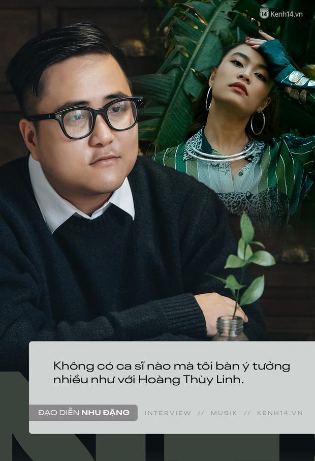 """Đạo diễn Nhu Đặng: Chỉ ngồi """"chém gió với Hoàng Thùy Linh cũng tạo ra xu hướng MV Vpop 2019, từng không nói chuyện với Bích Phương trong thời gian dài - Ảnh 7."""