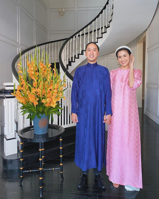 Sau tất cả, Louis Nguyễn cũng diện áo dài mới đón Tết chứ không trưng dụng bộ cũ như mấy năm trước nữa rồi! - Ảnh 4.