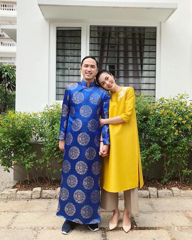 Sau tất cả, Louis Nguyễn cũng diện áo dài mới đón Tết chứ không trưng dụng bộ cũ như mấy năm trước nữa rồi! - Ảnh 2.