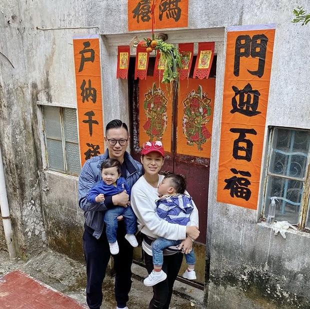 Dàn sao Cbiz nhuộm đỏ Weibo mùng 1: Trịnh Sảng gây sốt với ảnh khoe bố mẹ, Hồ Hạnh Nhi đưa 2 con về quê ăn Tết - Ảnh 3.