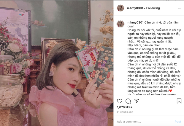 Quang Hải bất ngờ thả tim ảnh Nhật Lê ngay ngày đầu năm mới, phớt lờ ảnh của cô chủ tiệm nail - Ảnh 2.