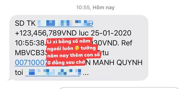 Giản dị về quê ăn Tết nhưng Phan Mạnh Quỳnh lại mạnh tay lì xì 123.456.789 đồng cho bạn gái: Bạn trai nhà người ta là đây! - Ảnh 1.