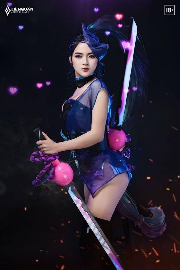 Bộ ảnh cosplay Liên Quân Mobile trai tài gái sắc, đến Hayate còn có Airi trong khi anh em game thủ vẫn FA đón Tết - Ảnh 8.
