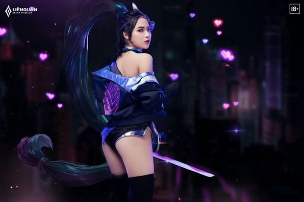 Bộ ảnh cosplay Liên Quân Mobile trai tài gái sắc, đến Hayate còn có Airi trong khi anh em game thủ vẫn FA đón Tết - Ảnh 3.
