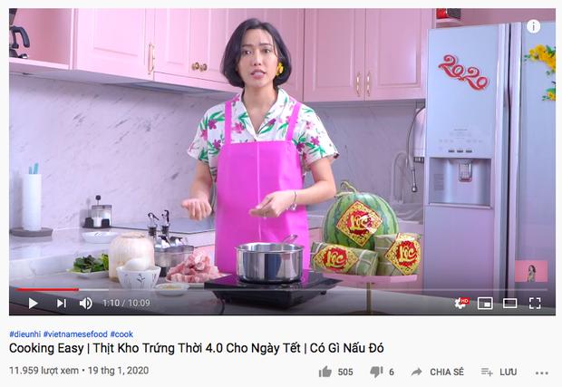 """Gái đảm Vbiz gọi tên Diệu Nhi: Từ trước Giao thừa đã quay vlog nấu món ăn ngày Tết, dù… """"có biết gì đâu mà dạy"""" - Ảnh 1."""