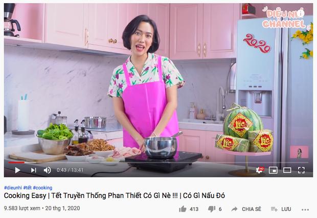 """Gái đảm Vbiz gọi tên Diệu Nhi: Từ trước Giao thừa đã quay vlog nấu món ăn ngày Tết, dù… """"có biết gì đâu mà dạy"""" - Ảnh 5."""