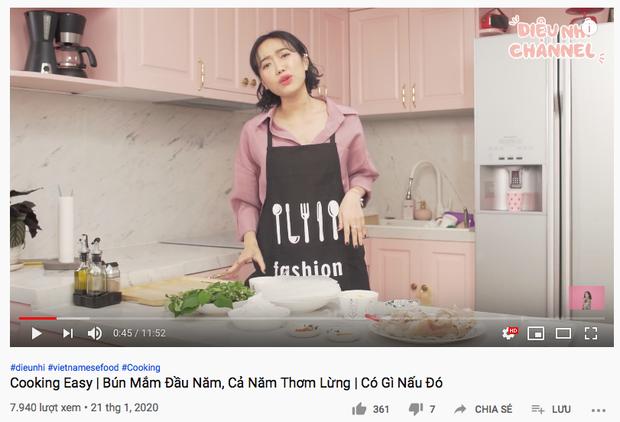 """Gái đảm Vbiz gọi tên Diệu Nhi: Từ trước Giao thừa đã quay vlog nấu món ăn ngày Tết, dù… """"có biết gì đâu mà dạy"""" - Ảnh 9."""