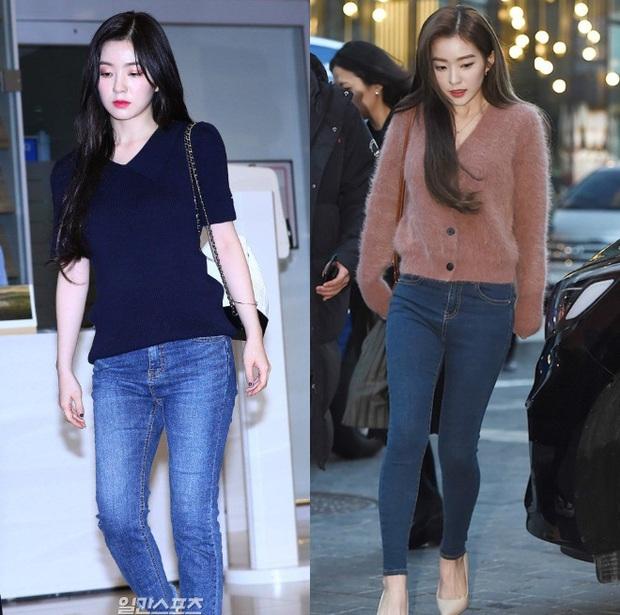 """Quần ống rộng trendy là thế nhưng Irene lại sủng ái quần skinny """"lỗi mốt"""" - Ảnh 5."""