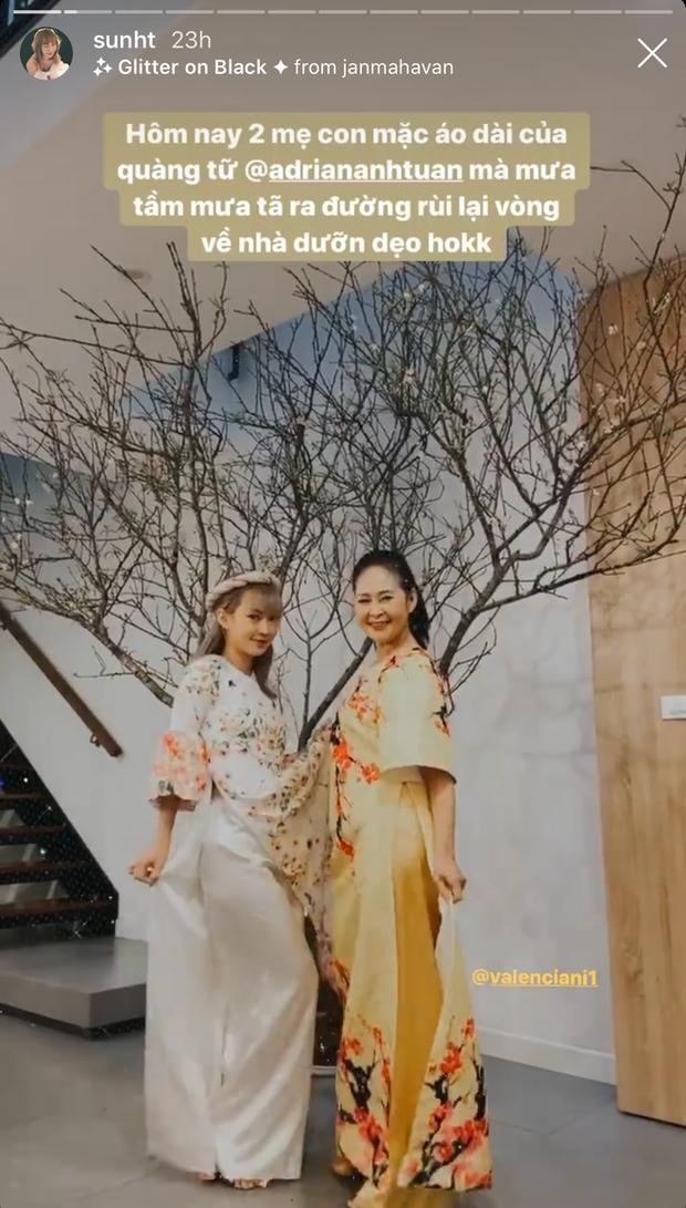 Mùng 2 Tết, dàn hot girl đình đám đua nhau khoe nhan sắc mẹ iu: Giờ thì biết họ thừa hưởng gen xinh của ai rồi nhé