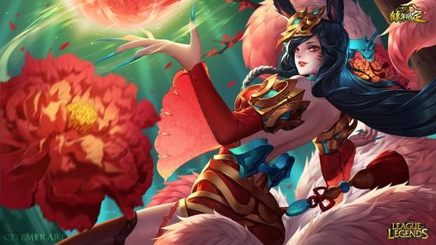 LMHT: Chiêm ngưỡng loạt trang phục Tết Nguyên Đán đẹp xuất sắc do fan thiết kế - Ảnh 4.