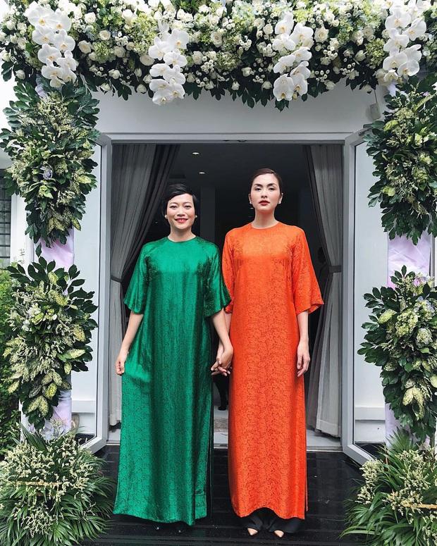 Học Hà Tăng, Yến Trang, Yến Nhi chọn giày dép kết hợp cực nuột với áo dài, đã vậy còn tôn dáng hết cỡ - Ảnh 4.