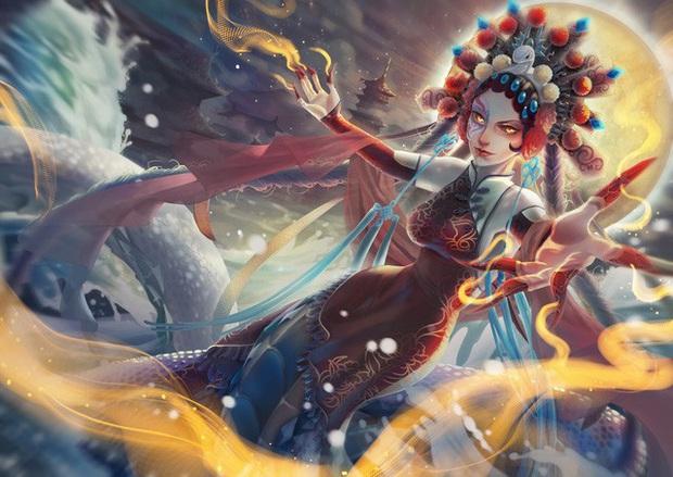 LMHT: Chiêm ngưỡng loạt trang phục Tết Nguyên Đán đẹp xuất sắc do fan thiết kế - Ảnh 6.