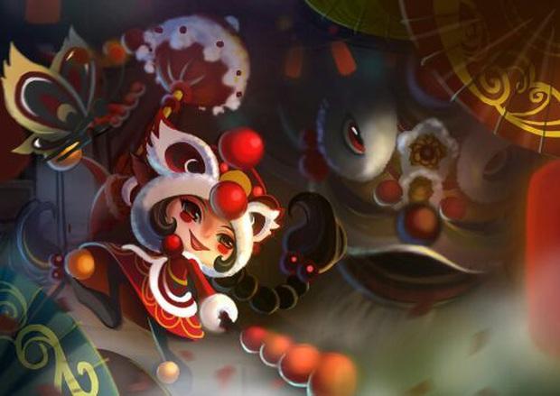 LMHT: Chiêm ngưỡng loạt trang phục Tết Nguyên Đán đẹp xuất sắc do fan thiết kế - Ảnh 7.