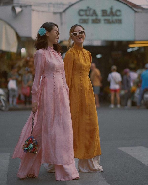 Học Hà Tăng, Yến Trang, Yến Nhi chọn giày dép kết hợp cực nuột với áo dài, đã vậy còn tôn dáng hết cỡ - Ảnh 7.