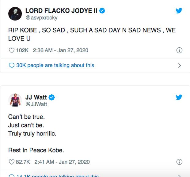 Justin Bieber, Tổng thổng và dàn sao thế giới bàng hoàng trước tin Kobe Bryant qua đời vì tai nạn trực thăng chấn động nước Mỹ - Ảnh 10.