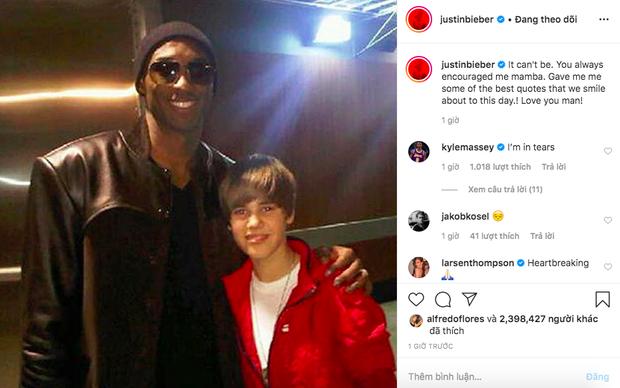 Justin Bieber, Tổng thổng và dàn sao thế giới bàng hoàng trước tin Kobe Bryant qua đời vì tai nạn trực thăng chấn động nước Mỹ - Ảnh 3.