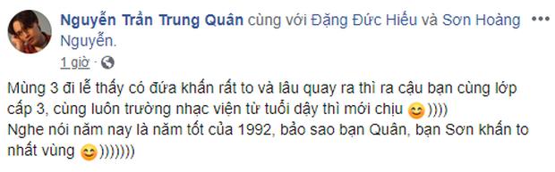 Vô tình gặp nhau đi lễ mà lại mở ra mối duyên tình, Soobin Hoàng Sơn - Nguyễn Trần Trung Quân - Denis Đặng làm ai cũng hóng một ngày bộ ba kết hợp - Ảnh 2.