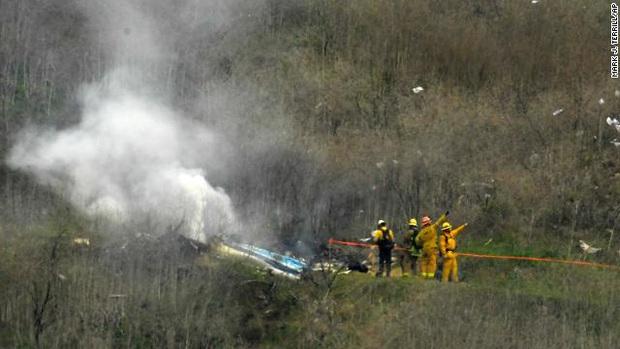 NÓNG: Không phải 5 mà tận 9 người tử vong trong vụ trực thăng rơi kinh hoàng của Kobe Bryant, công bố ảnh hiện trường - Ảnh 2.
