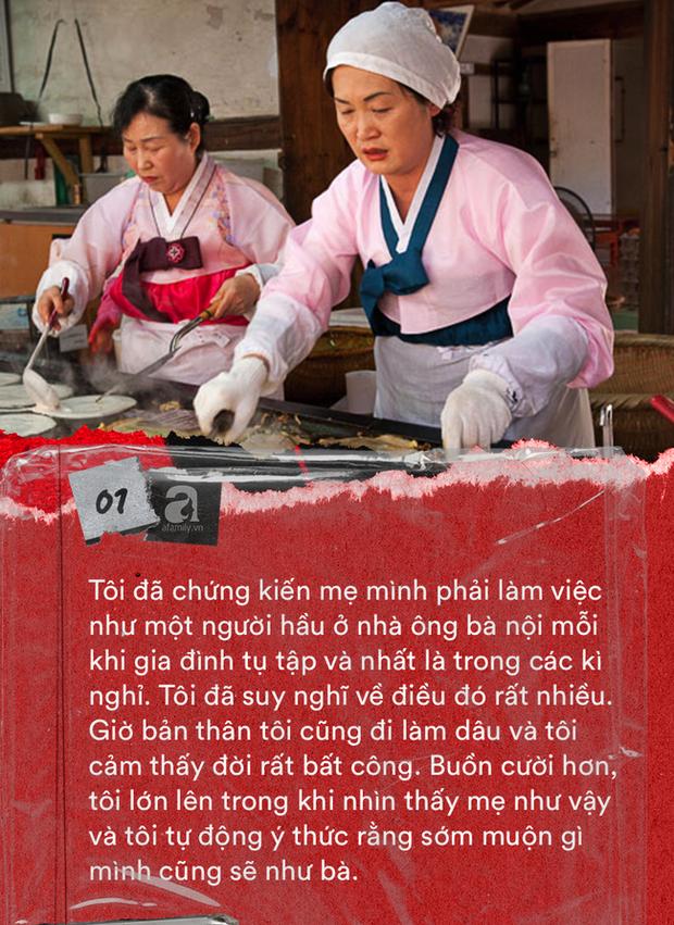 Tết với phụ nữ Hàn là những ngày làm việc tăng ca nhiều giờ liền nhưng không dám than phiền vì cảm giác có lỗi với tất cả mọi người - Ảnh 2.