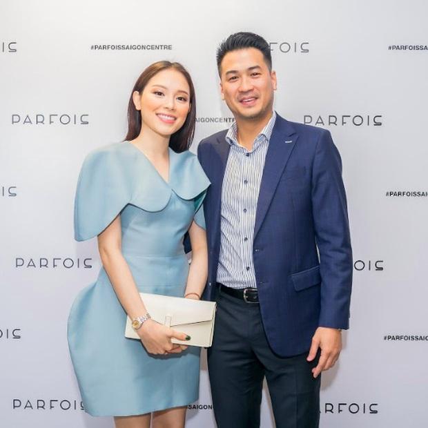 2 cặp đôi mới của Vbiz: Gu thời trang đồng điệu là một chuyện, càng nhìn càng thấy rõ nét phu thê - Ảnh 1.