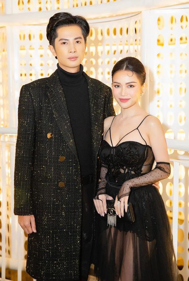 2 cặp đôi mới của Vbiz: Gu thời trang đồng điệu là một chuyện, càng nhìn càng thấy rõ nét phu thê - Ảnh 12.