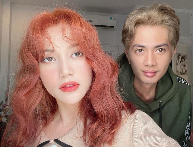 2 cặp đôi mới của Vbiz: Gu thời trang đồng điệu là một chuyện, càng nhìn càng thấy rõ nét phu thê - Ảnh 18.
