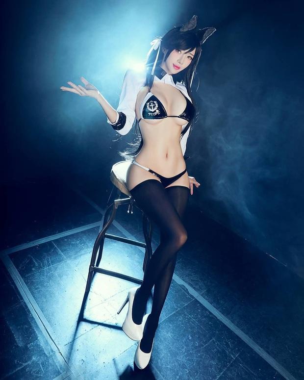Khó thở trước vòng một trễ nải của cô nàng cosplayer Hàn Quốc, đã là nam nhân thì phải đứng hình - Ảnh 3.