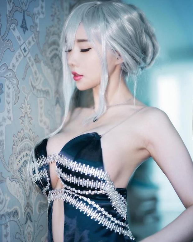 Khó thở trước vòng một trễ nải của cô nàng cosplayer Hàn Quốc, đã là nam nhân thì phải đứng hình - Ảnh 5.
