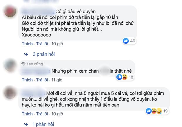 Nhắn tin đòi Nhã Phương hoàn tiền vé 30 Chưa Phải Tết, netizen tranh cãi nảy lửa - Ảnh 7.