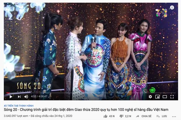 Mới mùng 3 Tết, Trấn Thành gây choáng với loạt video nối đuôi nhau trên top trending YouTube! - Ảnh 1.