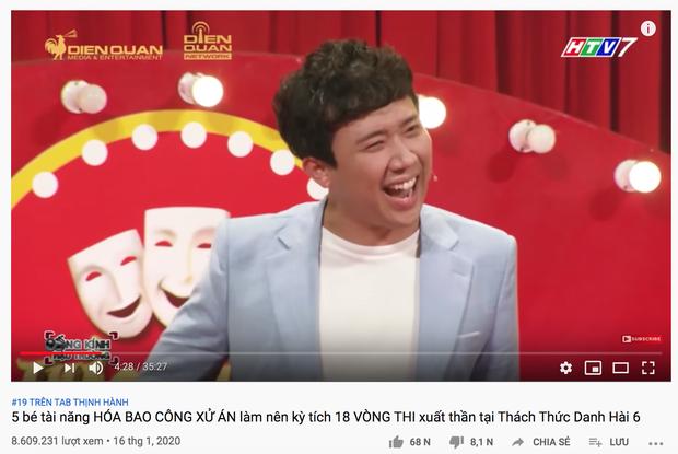 Mới mùng 3 Tết, Trấn Thành gây choáng với loạt video nối đuôi nhau trên top trending YouTube! - Ảnh 4.