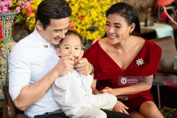 Xuân nghe kể chuyện hôn nhân Lương Thế Thành - Thuý Diễm: Ông xã từ chối 2-3 phim để chăm con cho tôi đi diễn, thương lắm - Ảnh 13.