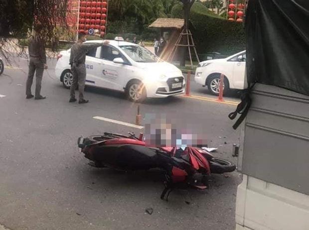 Tông vào đuôi xe tải đang đỗ bên đường, em trai chết thảm trên đường chở anh từ Huế vào Đà Nẵng chơi Tết - Ảnh 2.