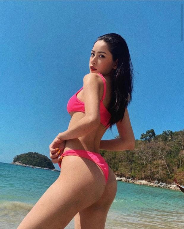Body đẹp thế này bảo sao Chi Pu tự tin tung thêm loạt ảnh bikini nóng bỏng đầu xuân chọc tức dân tình - Ảnh 2.