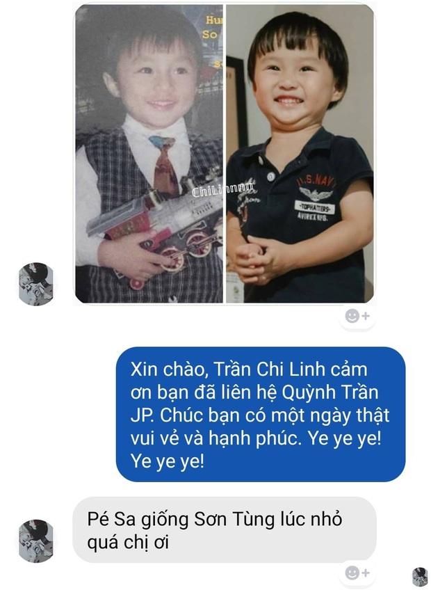 Hoá ra bé Sa là bản sao thất lạc lúc nhỏ của Sơn Tùng M-TP: Con mẹ Quỳnh Trần JP sau này không hot boy cũng cực phẩm vạn người mê! - Ảnh 1.