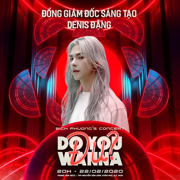 Bạch Liên Denis Đặng sẽ là phù thủy đứng sau concert Do You Wanna Đu của Bích Phương? - Ảnh 2.