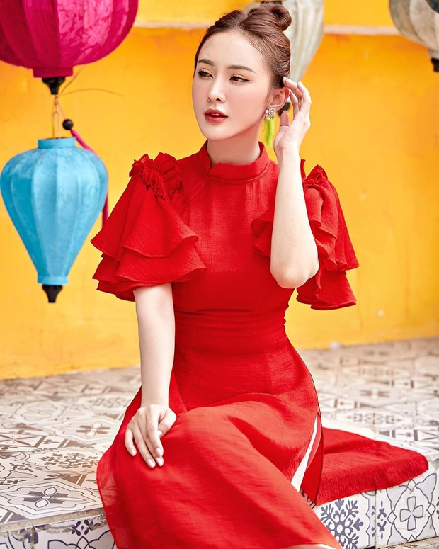 Kiểu makeup chơi Tết của loạt sao Việt: Người sắc nét hơn mọi ngày, người nhẹ nhàng mà vẫn tươi - Ảnh 10.