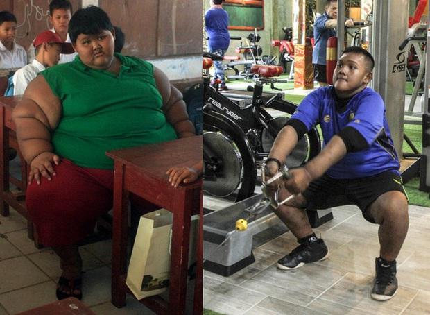 Cậu bé nặng nhất thế giới với gần 200kg sau 4 năm phẫu thuật thu nhỏ dạ dày giờ lột xác không ai nhận ra - Ảnh 1.